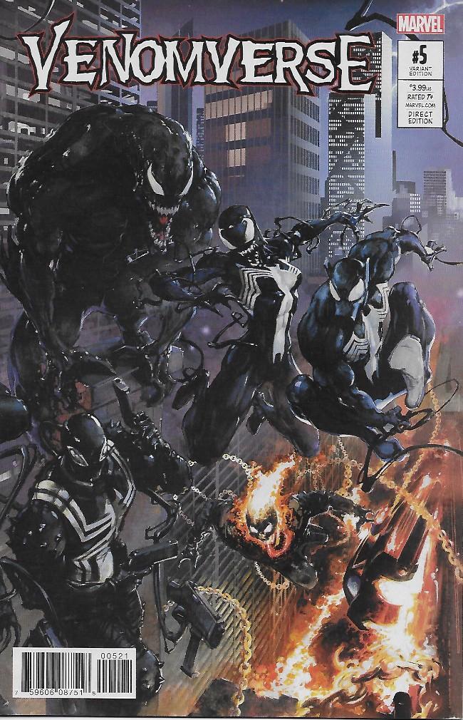 Couverture de Venomverse (2017) -5A- Issue #5