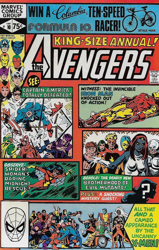 Couverture de Avengers Vol. 1 (Marvel Comics - 1963) -AN10- By Friends...Betrayed!