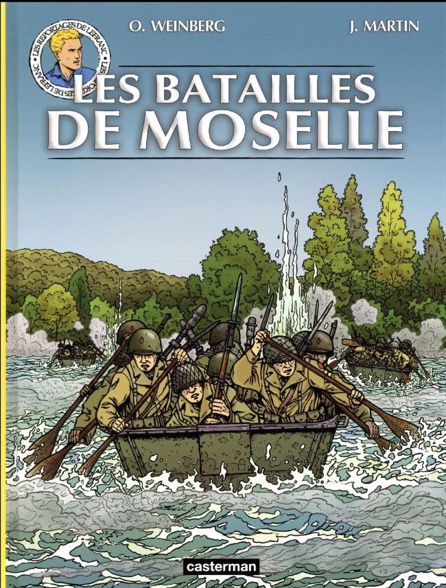Couverture de Lefranc (Les voyages de/Les reportages de) -9- Les batailles de Moselle