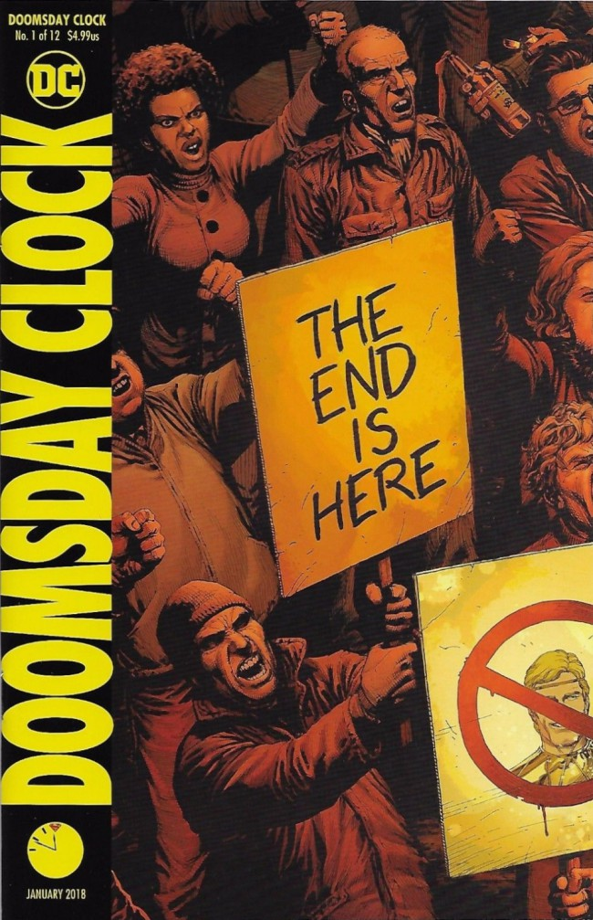 Couverture de Doomsday Clock (2017) -1- That Annihilated Place