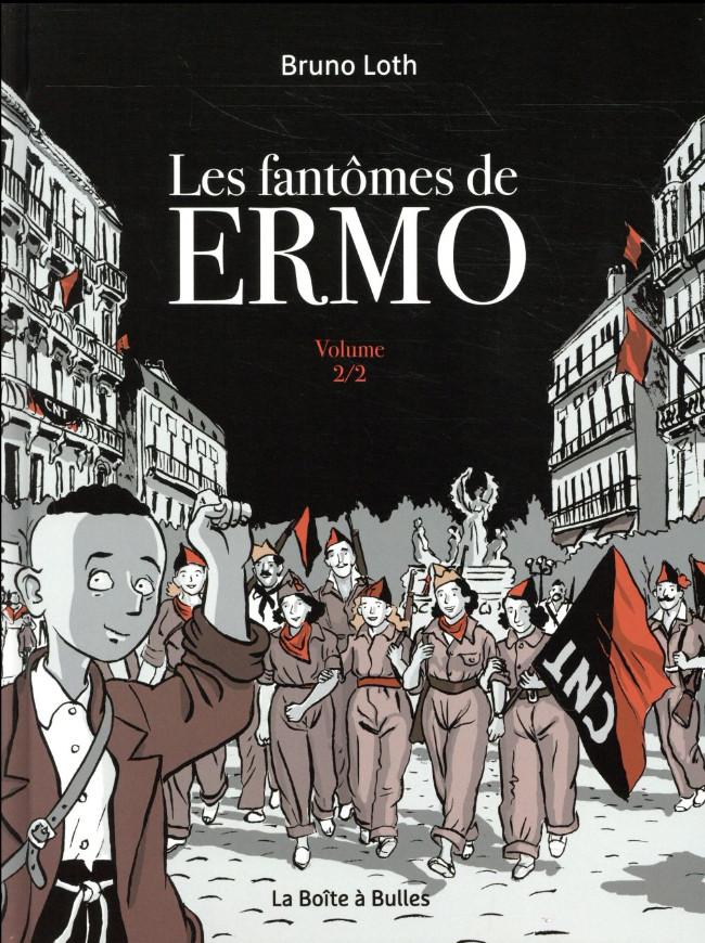 Couverture de Ermo -INT02- Les fantômes de Ermo - Volume 2/2