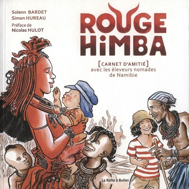 Couverture de Rouge Himba