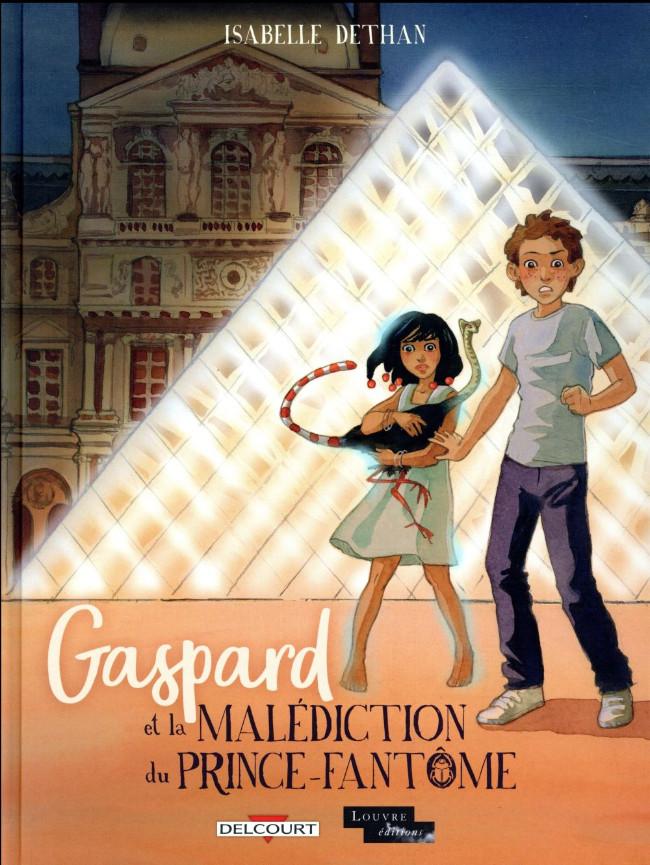 Couverture de Gaspard et la malédiction du prince-fantôme