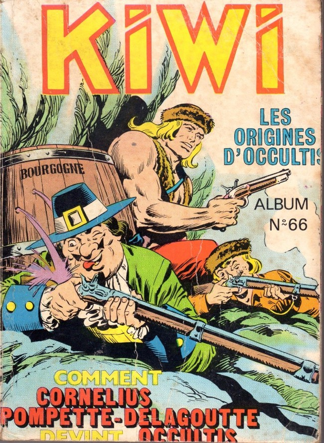 Couverture de Kiwi -Rec066- Album N°66 (du n°299 au n°302)