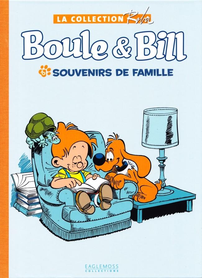 Couverture de Boule et Bill -15- (Collection Eaglemoss) -1011- Souvenirs de famille