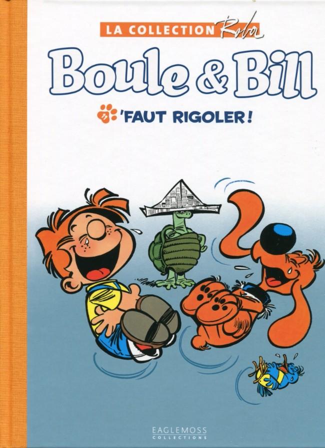 Couverture de Boule et Bill -15- (Collection Eaglemoss) -1133- 'faut rigoler !