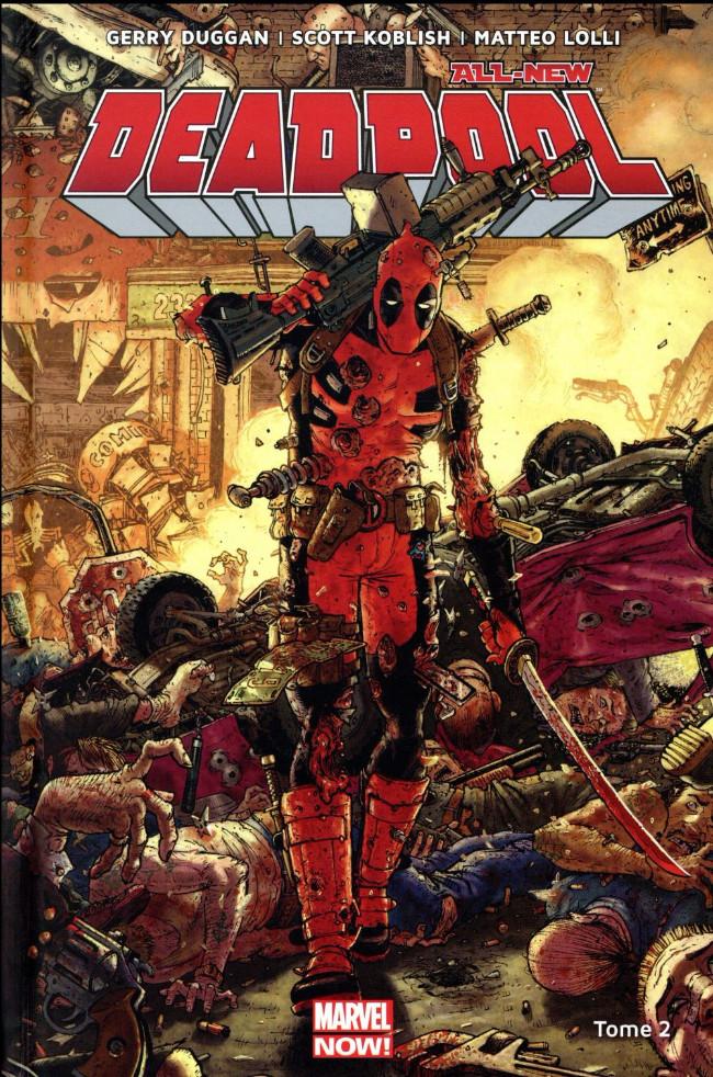 Couverture de All-New Deadpool (Marvel Now!) -2- Deadpool contre Dents de Sabre