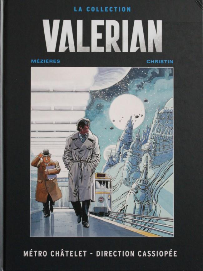 Couverture de Valérian - La collection (Hachette) -9- Métro Châtelet - Direction Cassiopée