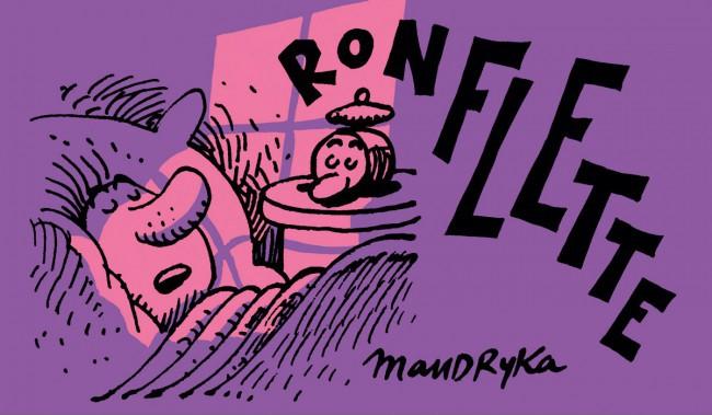 Couverture de Ronflette et Glissette