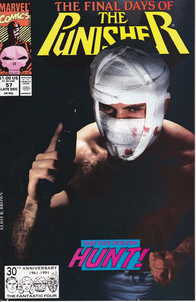Couverture de Punisher (1987) (The) -57VC- Final days part 5: America's Most Hunted (Photographic Cover)