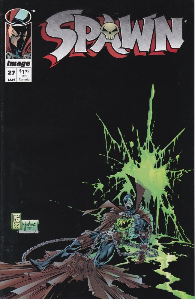 Couverture de Spawn (1992) -27- Cursed