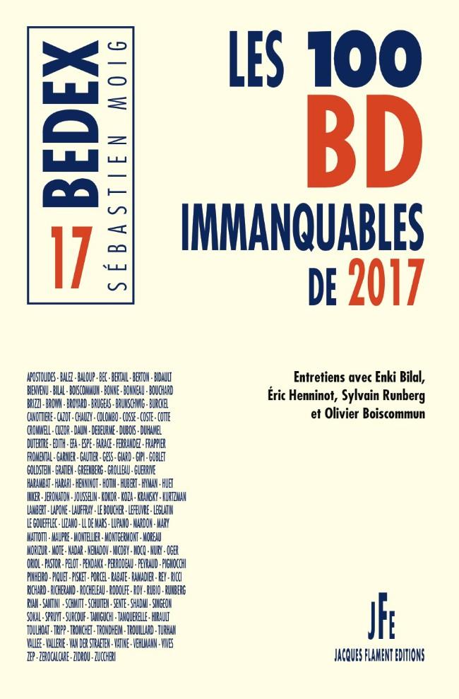 Couverture de (DOC) Encyclopédies diverses - Les 100 BD immanquables de 2017
