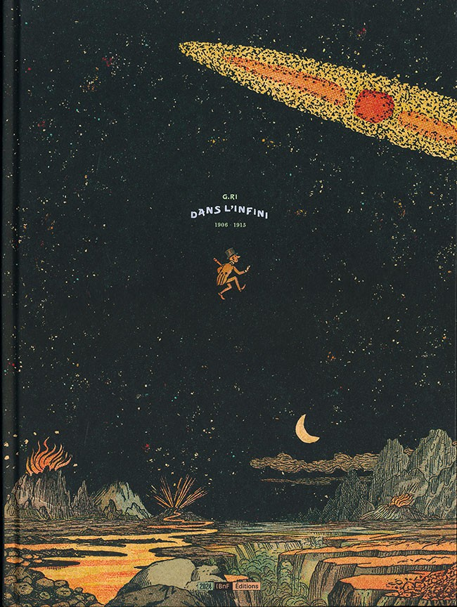 Couverture de Dans l'infini et autres histoires -1- Dans l'infini 1906 - 1915