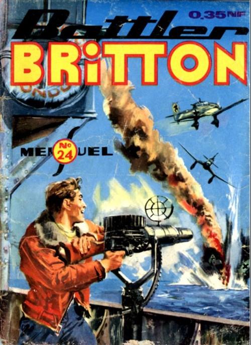 Couverture de Battler Britton (Imperia) -24- L'héroïque défense