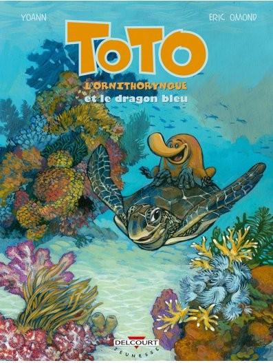 Couverture de Toto l'ornithorynque -8- Toto l'ornithorynque et le dragon bleu