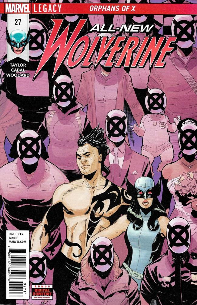 Couverture de All-New Wolverine (2016) -27- Orphans Of X Part 3