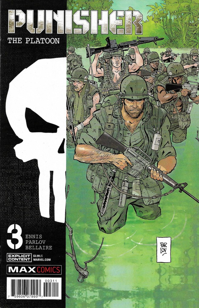 Couverture de Punisher: The Platoon (2017) -3- Punisher: The Platoon