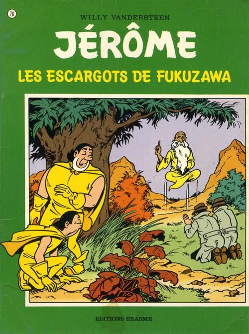 Couverture de Jérôme -76- Les escargots de Fukuzawa