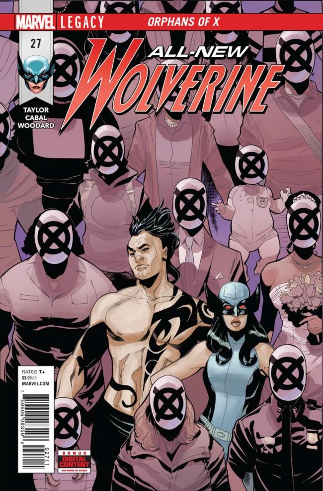 Couverture de All-New Wolverine (2016) -27- Orphans of X: Part 3