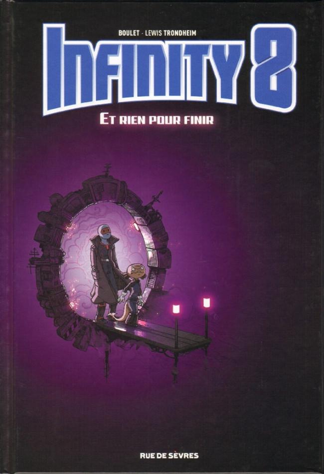 Couverture de Infinity 8 -7- Et rien pour finir