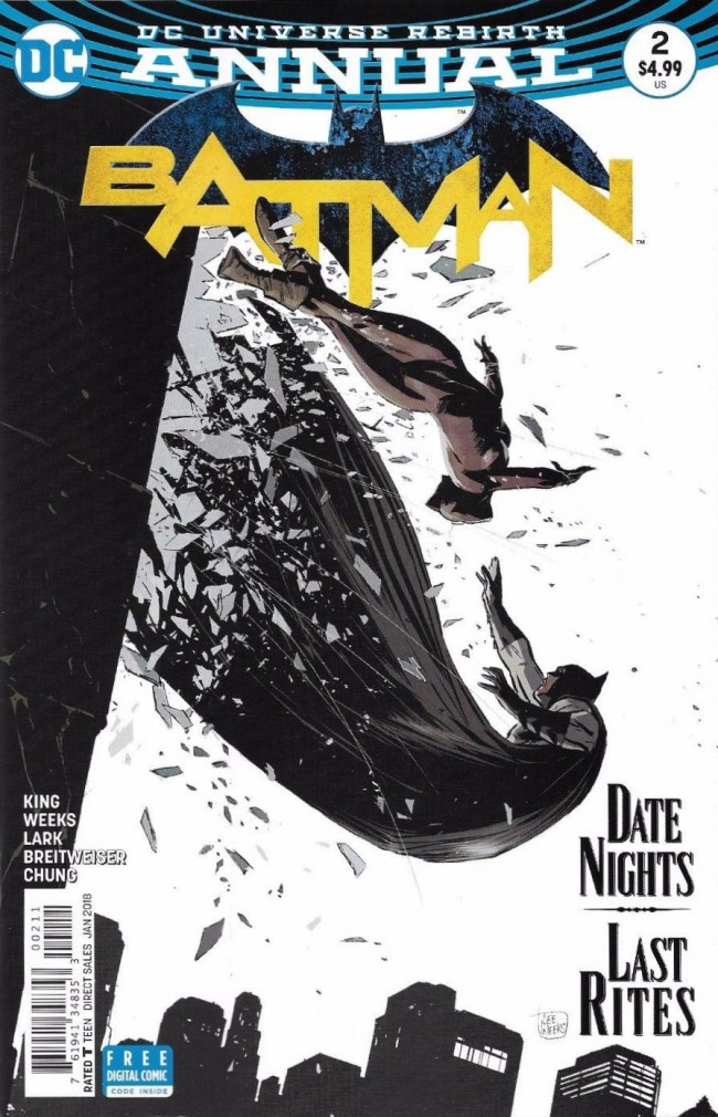 Couverture de Batman (2016) -AN02- Some Of These Days