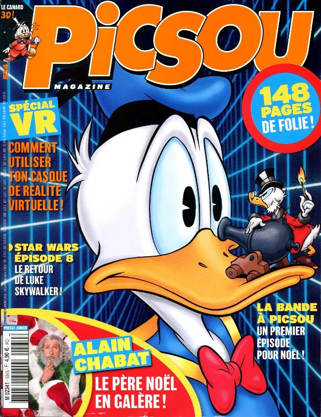 Couverture de Picsou Magazine -534- Picsou et les héritiers