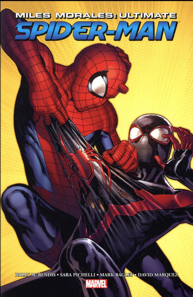 Couverture de Ultimate Comics Spider-Man -2- Miles Morales : Ultimate Spider-Man