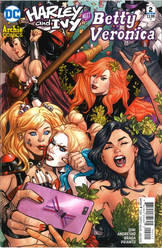 Couverture de Harley and Ivy Meet Betty and Veronica -2- #2