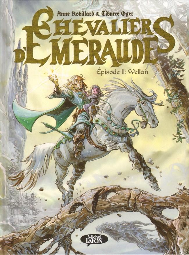Couverture de Les chevaliers d'Émeraude -6- Wellan