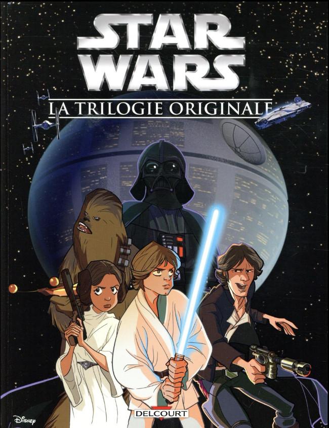 Couverture de Star Wars (Delcourt / Disney) -INT1- La Trilogie originale