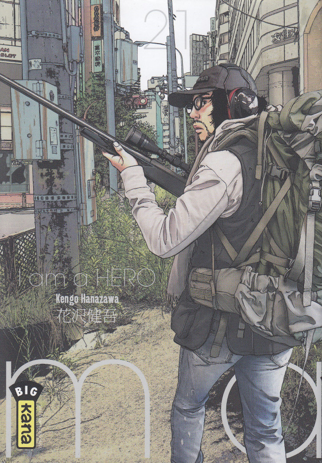 Couverture de I am a hero -21- Tome 21