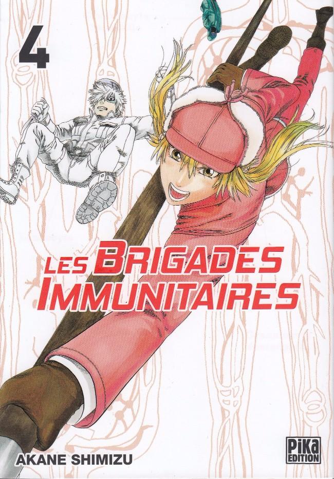 Couverture de Les brigades immunitaires -4- Tome 4