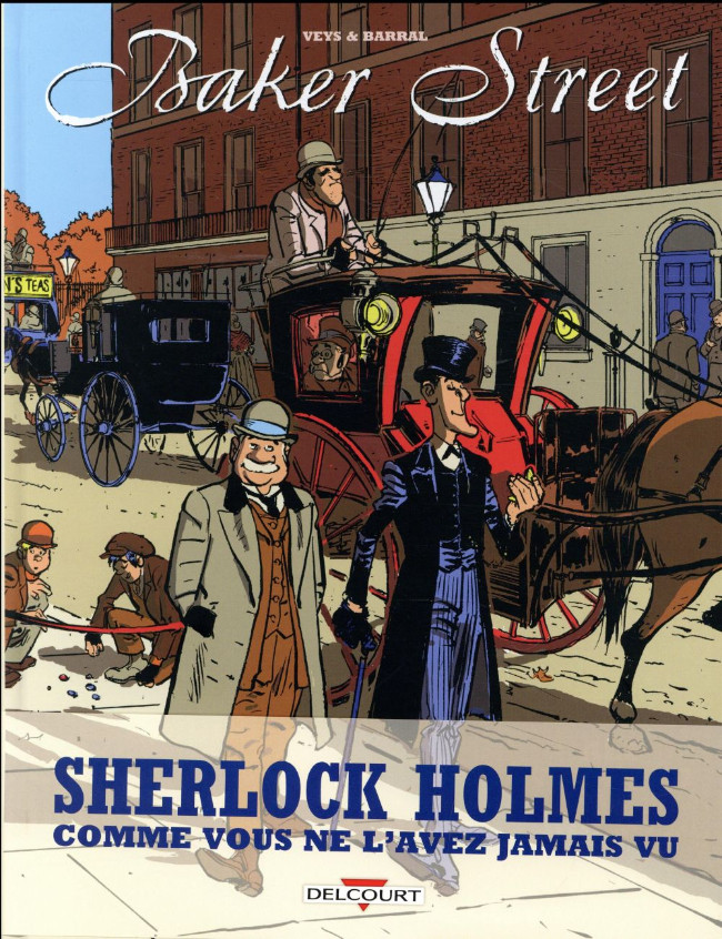 Couverture de Baker Street (Veys/Barral) -INT- All you need is Holmes