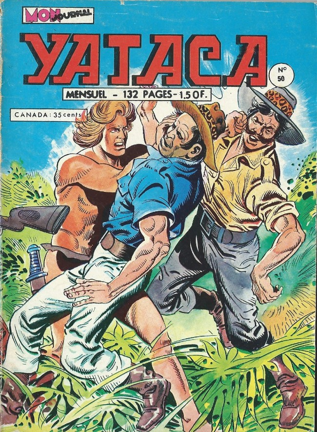 Couverture de Yataca (Fils-du-Soleil) -50- Yataca