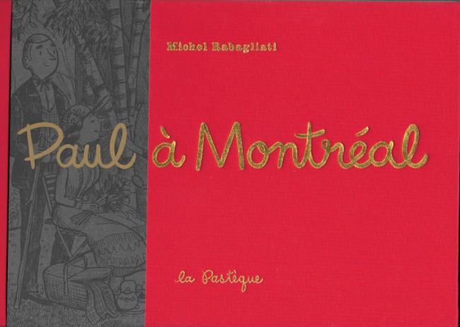 Couverture de Paul -HS- Paul à Montréal