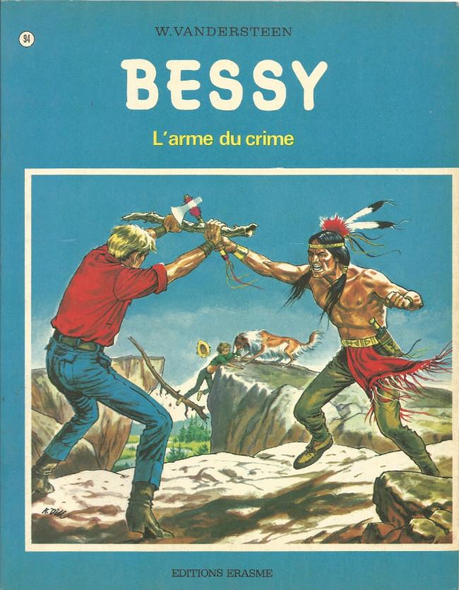 Couverture de Bessy -94- L'arme du crime