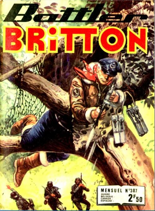 Couverture de Battler Britton -387- Ennemis dans l'ombre