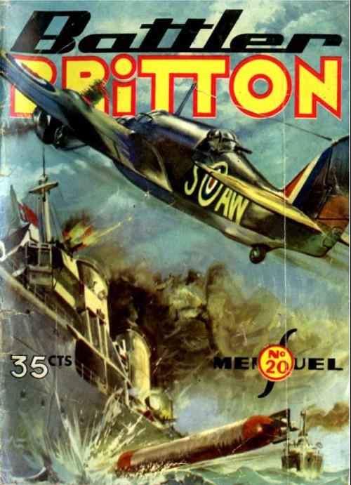 Couverture de Battler Britton -20- Opération