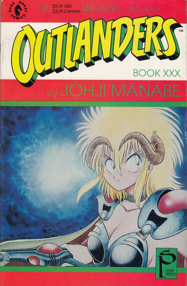 Couverture de Outlanders (1988) -30- Outlanders #30