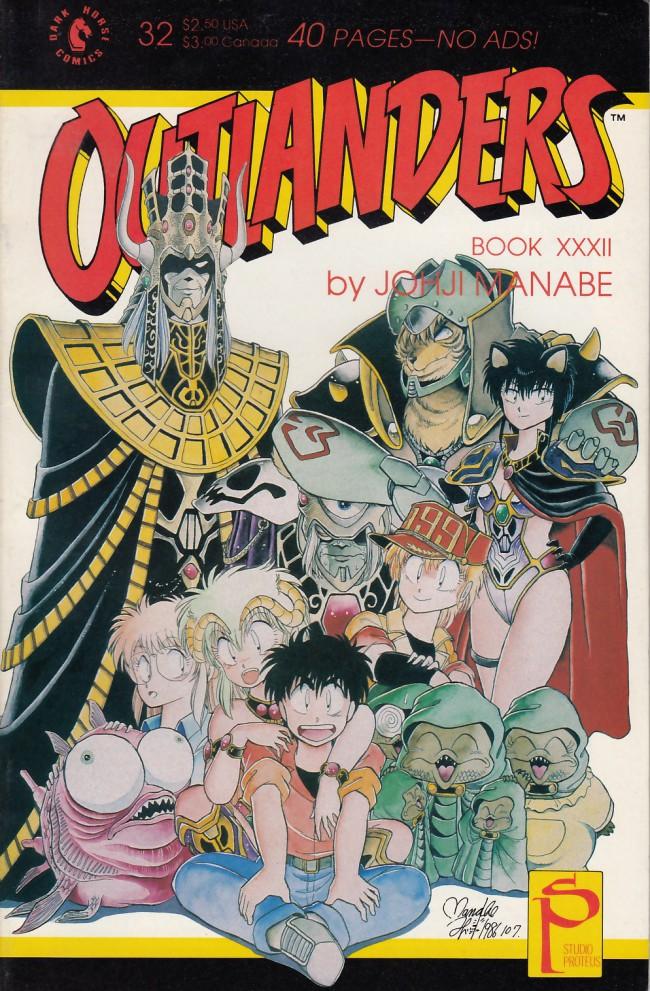Couverture de Outlanders (1988) -32- Outlanders #32