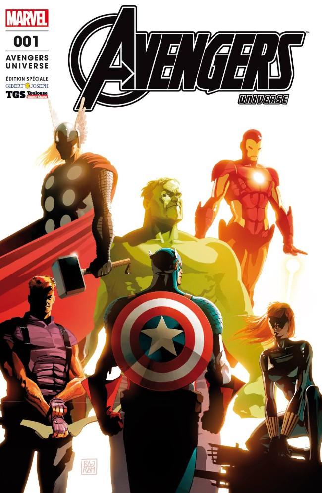 Couverture de Avengers Universe (2e série - 2017) -1TL- Baptême du feu