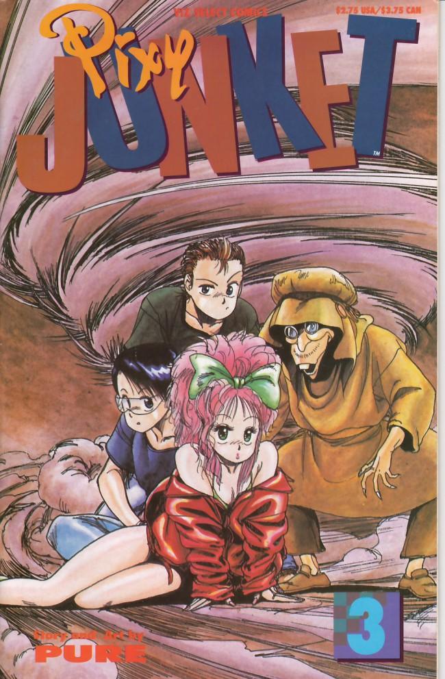 Couverture de Pixy Junket (1993) -3- Pixy junket #3