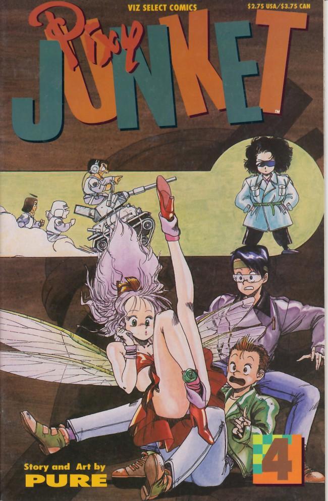 Couverture de Pixy Junket (1993) -4- Pixy junket #4