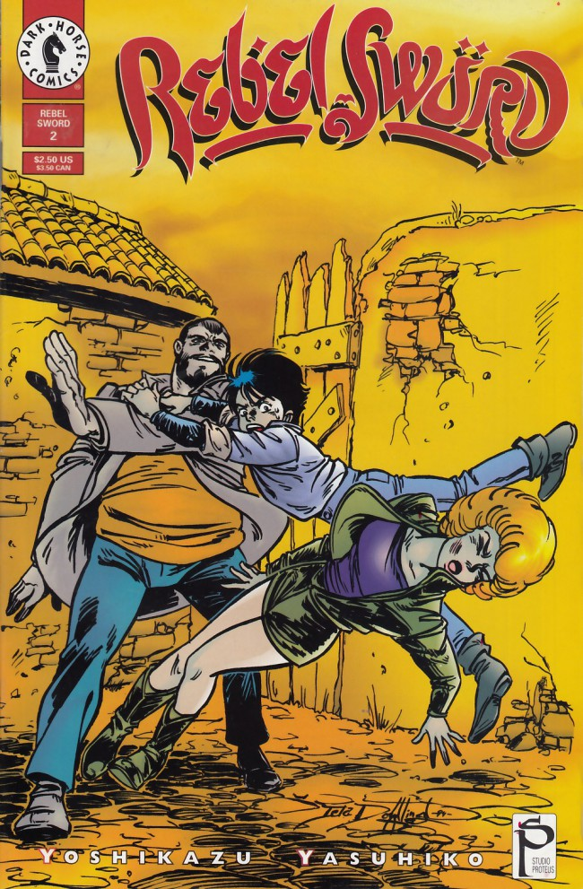 Couverture de Rebel Sword (1994) -2- Rebel sword #2