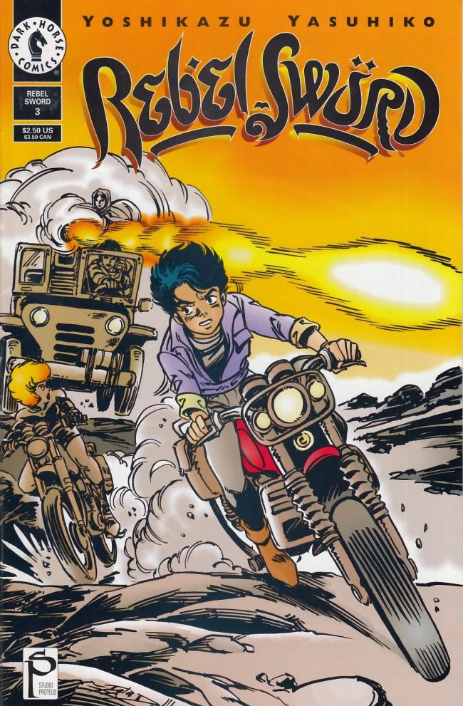 Couverture de Rebel Sword (1994) -3- Rebel sword #3