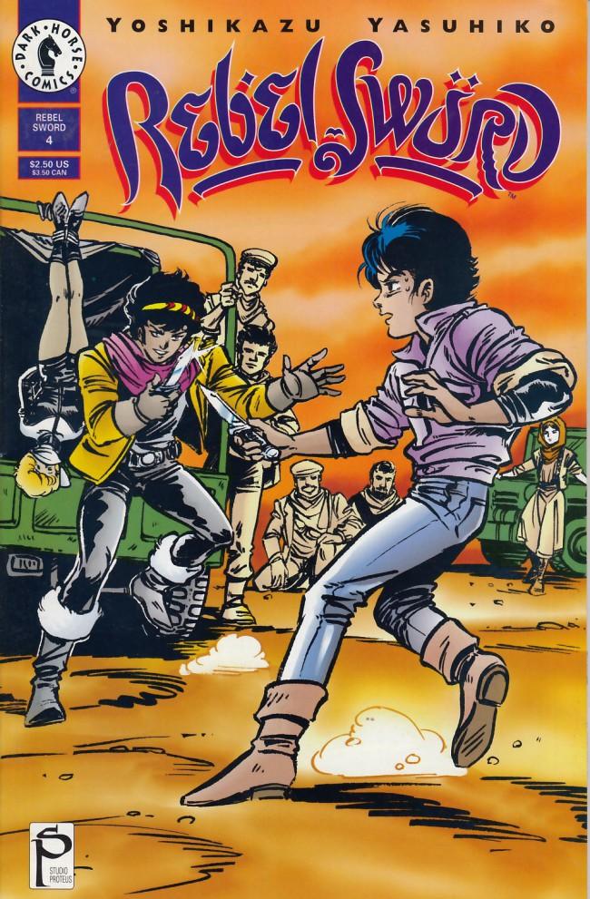 Couverture de Rebel Sword (1994) -4- Rebel sword #4