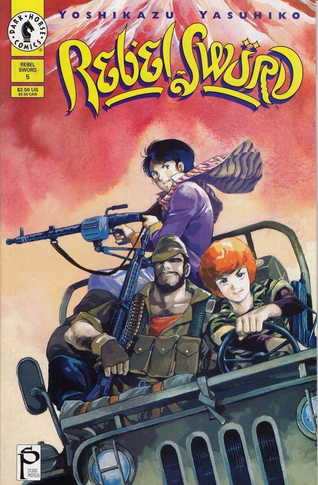 Couverture de Rebel Sword (1994) -5- Rebel sword #5