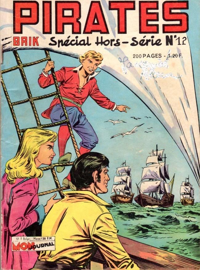 Couverture de Pirates (Mon Journal) -12- Eric Tête Folle : Pour délivrer le Marquis