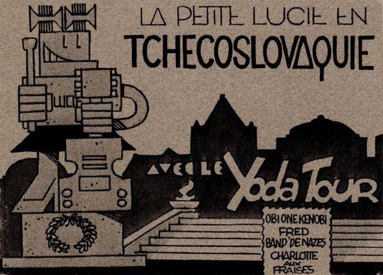 Couverture de La petite Lucie -HS- La petite Lucie en Tchecoslovaquie