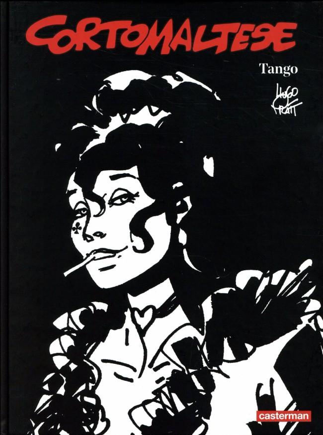 Couverture de Corto Maltese (Noir et blanc relié) -10- Tango